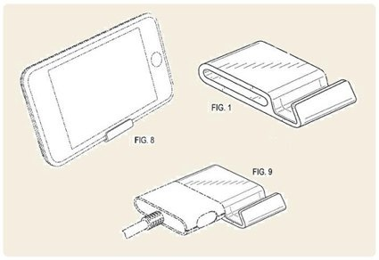 Apple patenta un nuevo mini-dock para iPhone y iPod touch