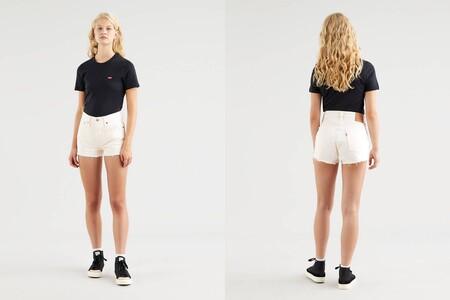Levis Shorts 501 Amarillos