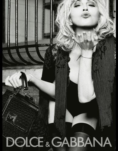 Foto de Madonna para Dolce & Gabbana. Todas las imágenes de la campaña Primavera-Verano 2010 (9/11)