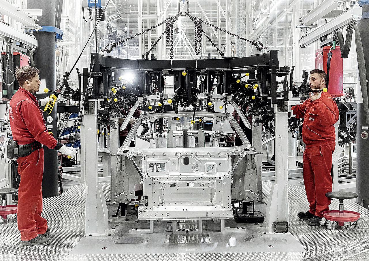 Foto de Audi R8 fabricación (2/8)