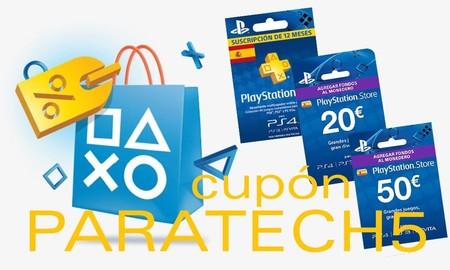 Ahora, las tarjetas prepago PS Plus y PSN para tu PS4, te salen (aún) más baratas en eBay con el cupón PARATECH5