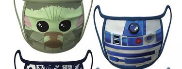 Disney lanza mascarillas customizadas de sus personajes favoritos como Baby Yoda, Elsa, Mickey o Hulk