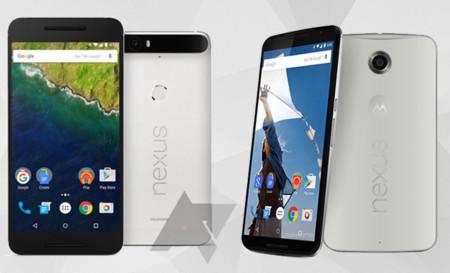 Nexus 6p y Nexus 6