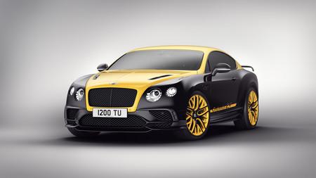 Este Bentley Continental GT no está tuneado, es una edición limitada en honor a las 24 Horas de Nürburgring