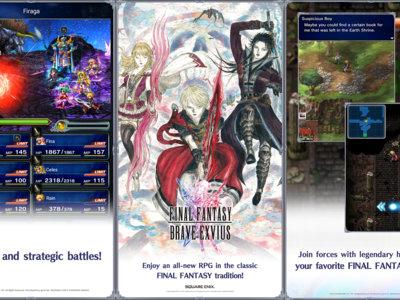Final Fantasy: Brave Exvius comienza a llegar a occidente, ¡descárgalo ya!