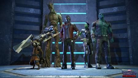 Ya puedes ver las primeras imágenes de Los Guardianes de La Galaxia  de Telltale Games