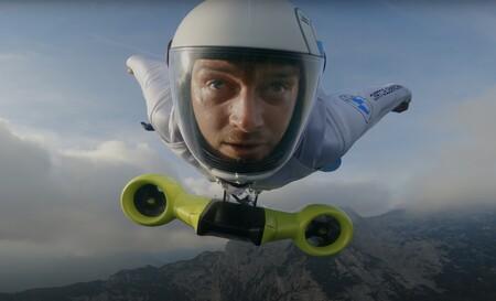 BMW diseña un traje volador completamente eléctrico con el que consiguen alcanzar más 300 km/h