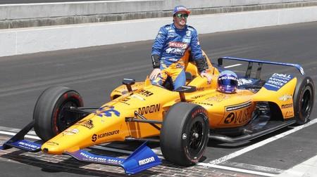 Alonso Indycar Mclaren 2020