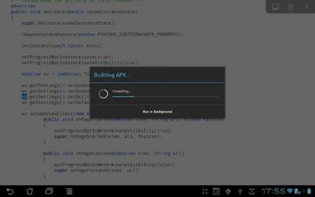 AIDE, entorno para programar aplicaciones Android en el propio smartphone
