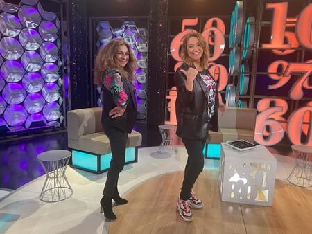 Lolita y Toñi Moreno