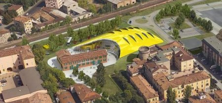 Apertura del Museo Enzo Ferrari en Módena en marzo 2012