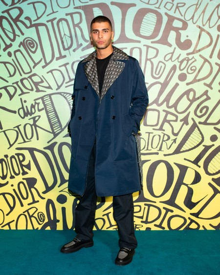 Younes Bendjima Dior Fall 2020 3 12 19