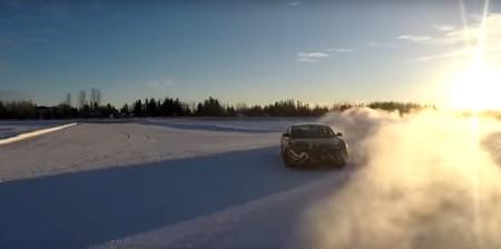 Así se prueban los 1.000 CV del Lucid Air sobre hielo y nieve