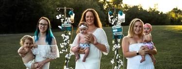 Las preciosas fotografías que rinden homenaje a los bebés alimentados con sonda