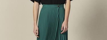 17 faldas plisadas ideales para lucir todo el verano y combinar con todo tipo de calzado