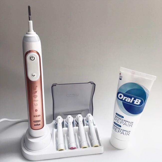 Oral B Genius Rose Gold1
