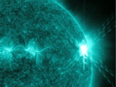 Nueva llamarada solar de clase C