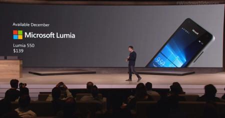 Lumia 550 Press