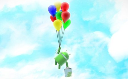 Android globos