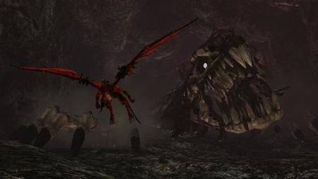 El retorno de 'Panzer Dragoon' se llama 'Crimson Dragon'. Tráiler, vídeo con gameplay e imágenes