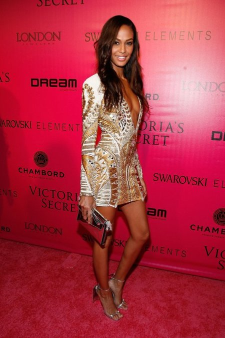 Joan Smalls Victorias Secret fiesta