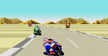 Llega 'Super Hang-On' a la Consola Virtual de Wii y con él las motos de finales de los 80