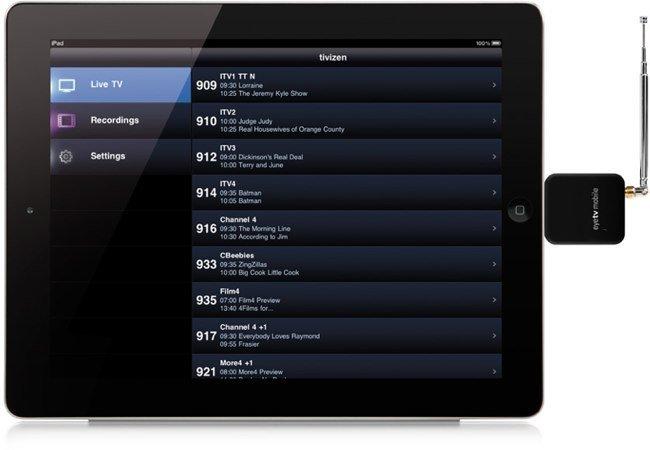 EyeTV Mobile de Elgato, un accesorio para ver la televisión y oir la radio en nuestro iPad