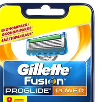 Set de 8 unidades Gillette Fusion ProGlide Power por 22,99 euros en Amazon