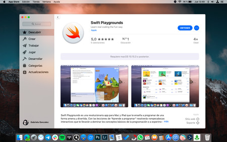 Swift Playgrounds Macos