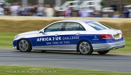 Mercedes-Benz E300 BlueTec Hybrid: 1.968 kilómetros con un depósito, de Tánger a Goodwood