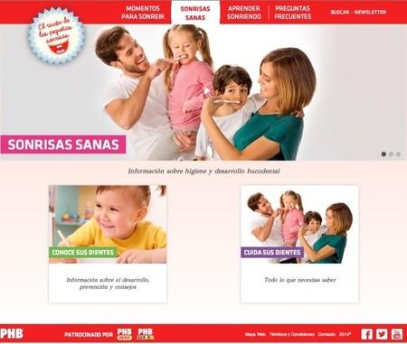 El rincón de las pequeñas sonrisas es el espacio creado por PHB para cuidar la salud bucodental de los niños