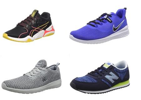 12 chollos en tallas sueltas de zapatillas deportivas Adidas, Nike, Puma o New Balance por menos de 30 euros en Amazon