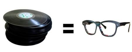 Vinylize, las gafas hechas con discos de vinilo