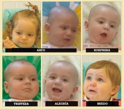 Una guía de expresión para ayudar a entender a los bebés