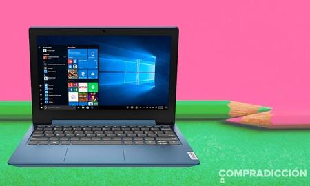 Este portátil cuesta menos de 200 euros y lleva Windows de serie: Lenovo IdeaPad 1 por 199 euros en Amazon