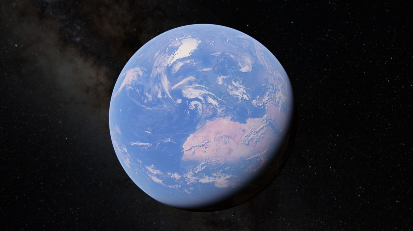Las singular cartografía de Google Earth tiene truco, y va más allá de los satélites