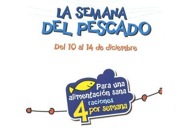 Semana del pescado en la alimentación infantil