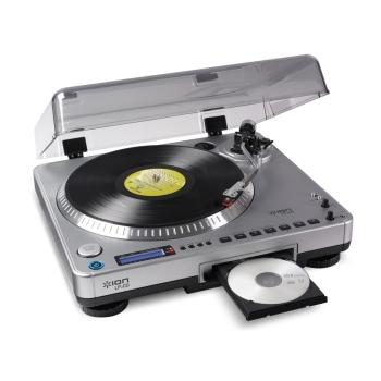 LP2CD de Ion Audio para nostálgicos del vinilo