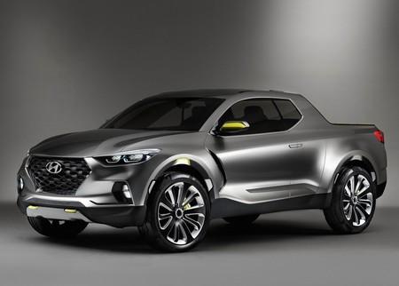 Hyundai Santa Cruz podría utilizar el motor diésel del Genesis GV80