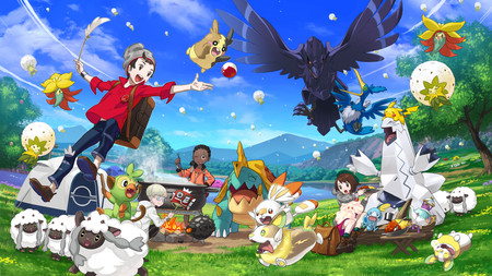 Pokémon Espada y Escudo y su visión del mundo abierto: cuando el farmeo no basta para crear mundos interesantes