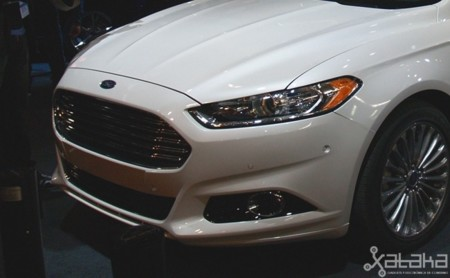 Ford coche autónomo MWC 2014 sensores ultrasonidos