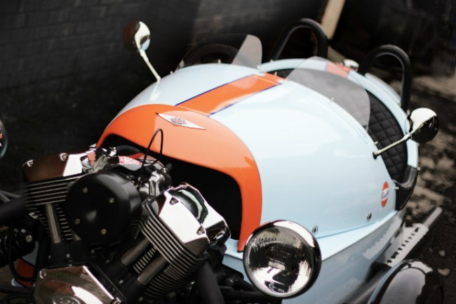 Morgan 3 Wheeler Limited Gulf Edition, sólo 100 unidades