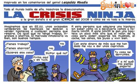 La crisis ninja en cómic