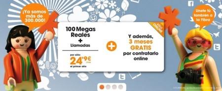 Euskaltel aprieta con 100 Mbps por 24.95 euros al mes además de tres cuotas gratis