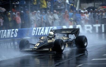 Elio De Angelis Lotus F1