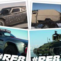 Estos son algunos de los autos que veremos en Rápidos y Furiosos 8