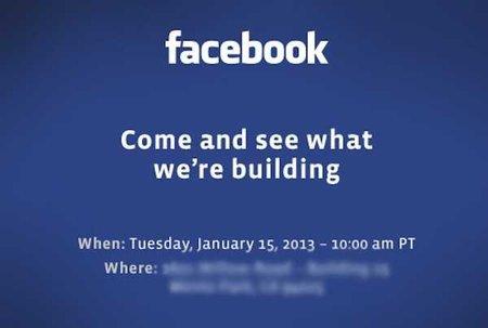Conoce lo nuevo que Facebook está construyendo el próximo 15 de enero