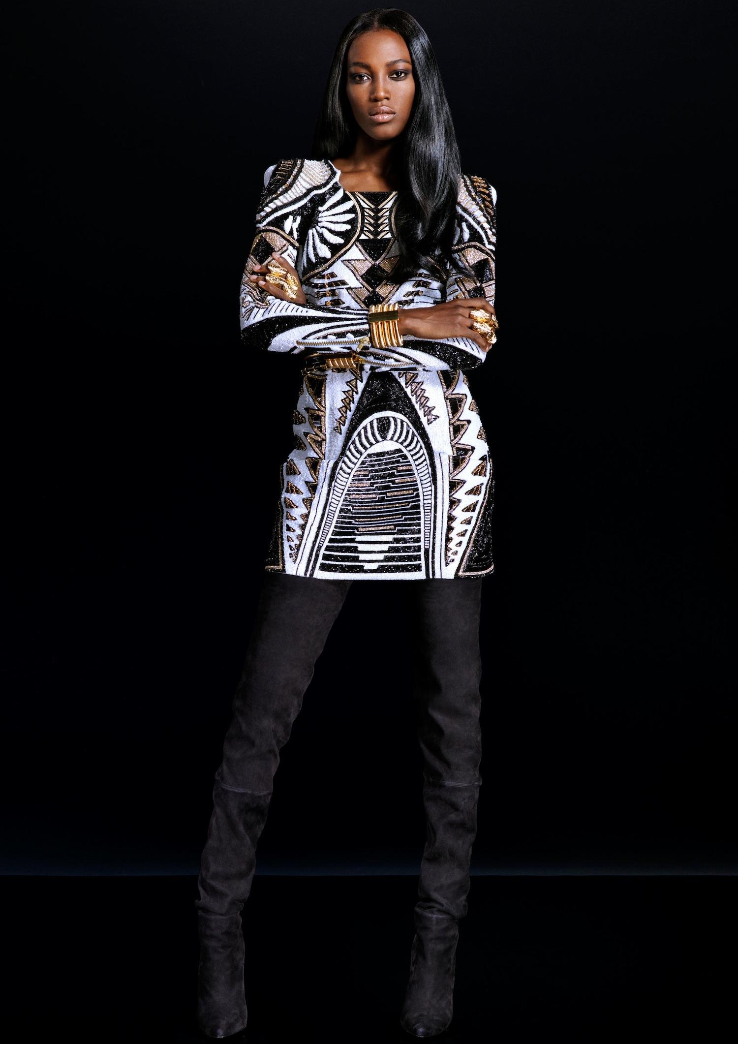 Lookbook de H&M x Balmain