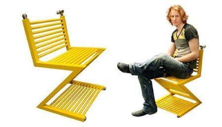 La silla radiador, para sentarse calentito