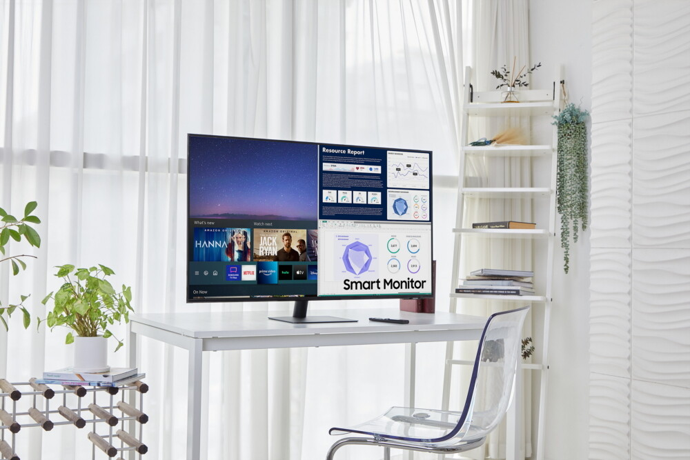 Los Samsung Smart Monitor, híbridos de televisor y monitor, amplían el abanico de diagonales y se acomodan en el 4K